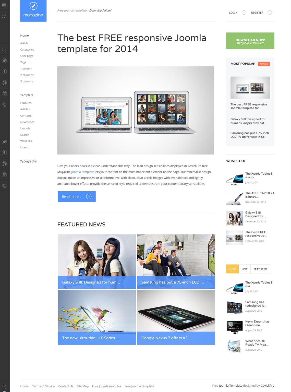 Best Free Responsive Joomla Templates 2019 Jlexart Joomla Extensions Provider
